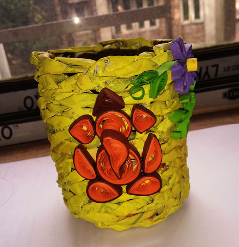 ​​Handicrafts made by Existing 3rd year student: Sm. Mouli Biswas, Economics Hons.