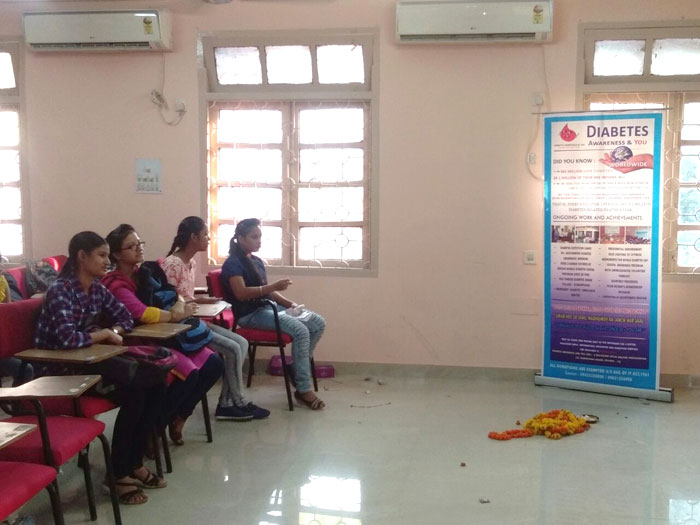 ​Medical Camp 2017 on Diabetes.