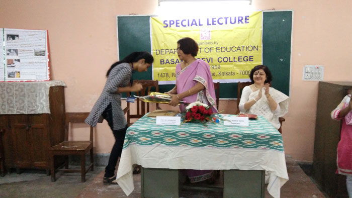 Special Lecture​ on​ Sister Nivedita and Women's Education.