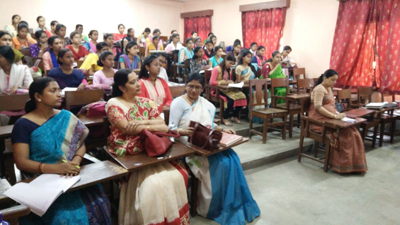 Special Lecture on Research Methodology.<br>Organised by Department of Education, Basanti Devi College.