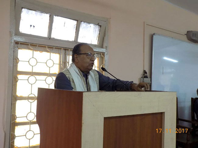 ​IQAC-UGC sponsored Special Lecture on Vivekananda & The Culture of Peace.