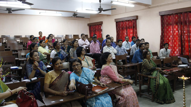 UGC Sponsored workshop on Personality Development of Non Teaching Staff, held on 8th February, 2017.